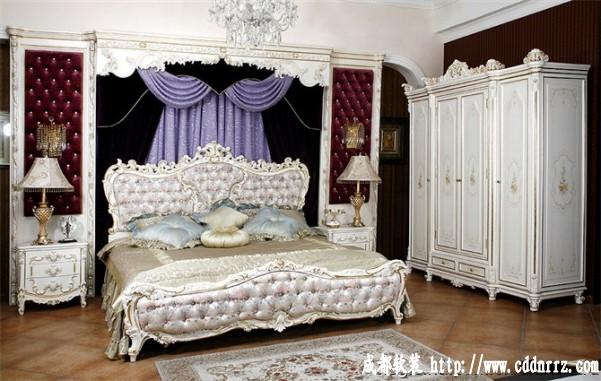 英式家具主色调从胡桃木等