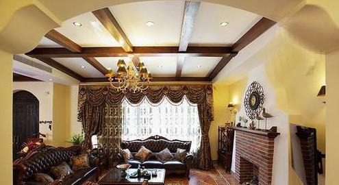 [杭州软装设计]古典韵味 美式风格 小别墅软装设计