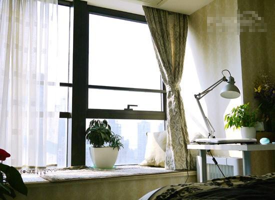 软装设计 10万软装日企白领90㎡单身公寓
